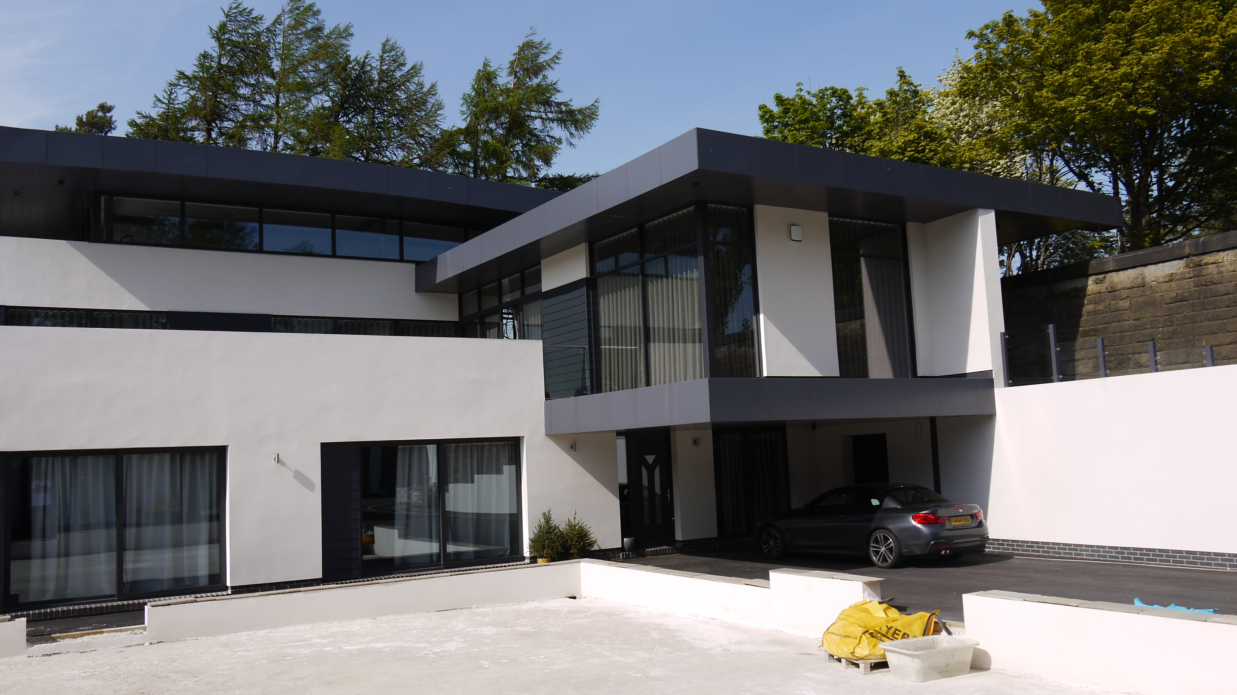 conversion of a Yorkshire water backup reservoir into a bespoke contemporary residential property
