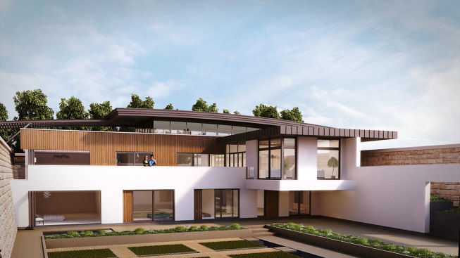 architects plan for resevoir house